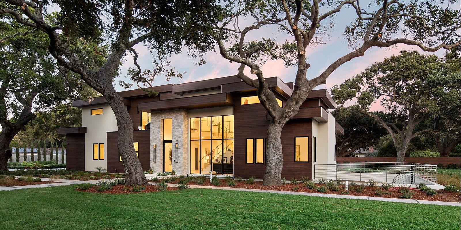 Beautiful home at Encinal Avenue, Atherton, California.